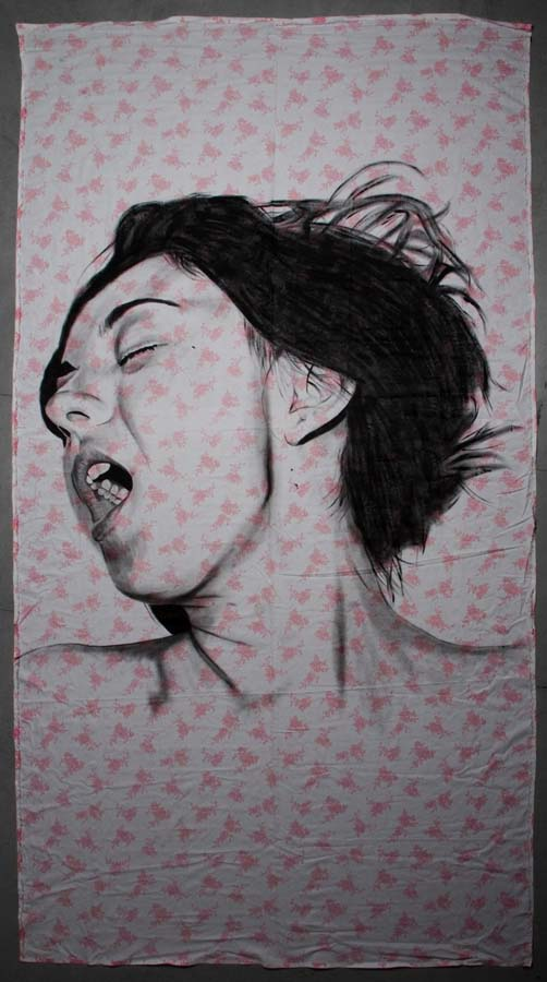 diegobeyro 13 Портреты на простынях Диего Бейро