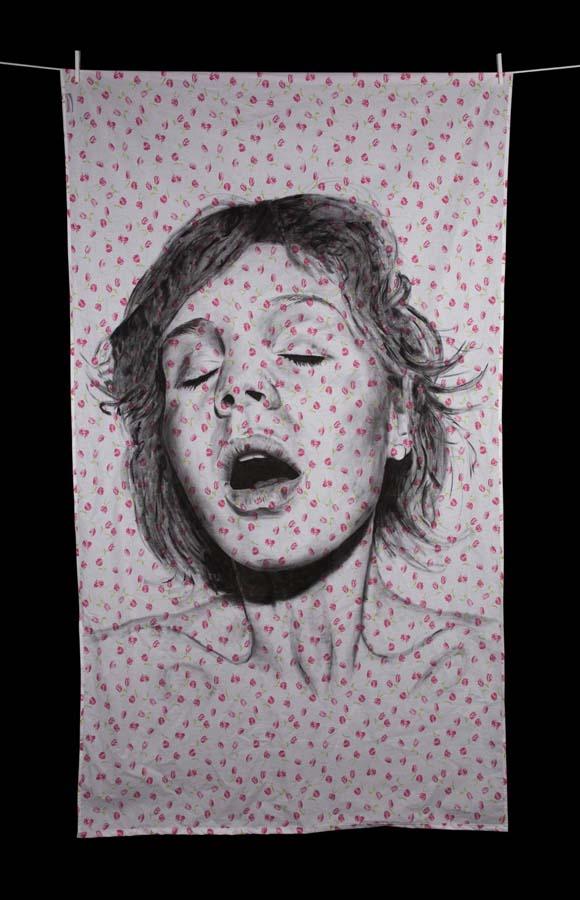 diegobeyro 21 Портреты на простынях Диего Бейро