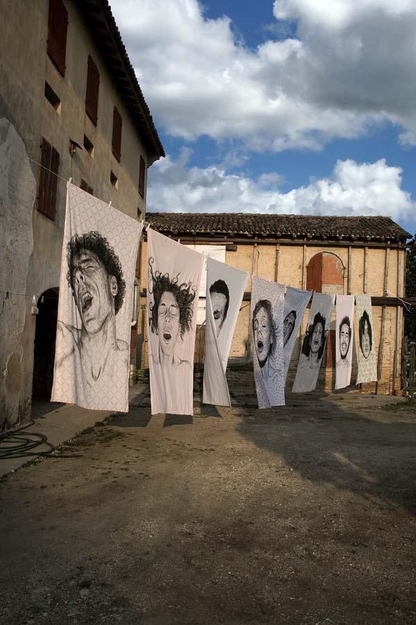 diegobeyro 5 Портреты на простынях Диего Бейро