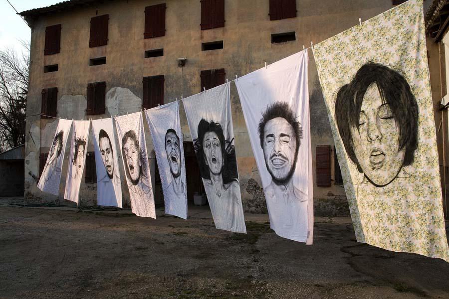 diegobeyro 6 Портреты на простынях Диего Бейро