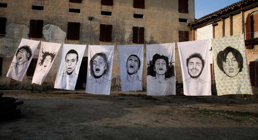diegobeyro 8 Портреты на простынях Диего Бейро