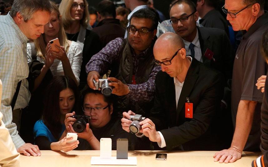 iphone5 9 Apple iPhone 5 в фотографиях
