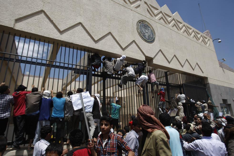 meadeast17 Атаки на посольства США в трех арабских странах