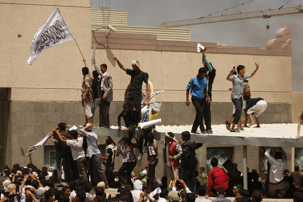 meadeast21 Атаки на посольства США в трех арабских странах