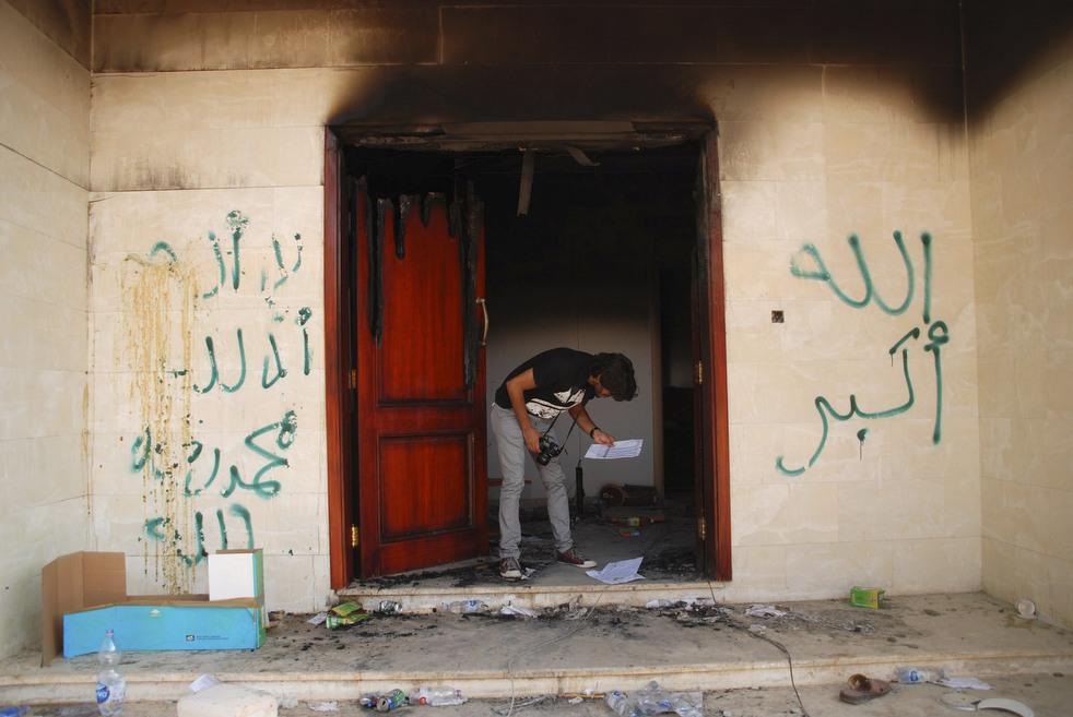 meadeast26 Атаки на посольства США в трех арабских странах
