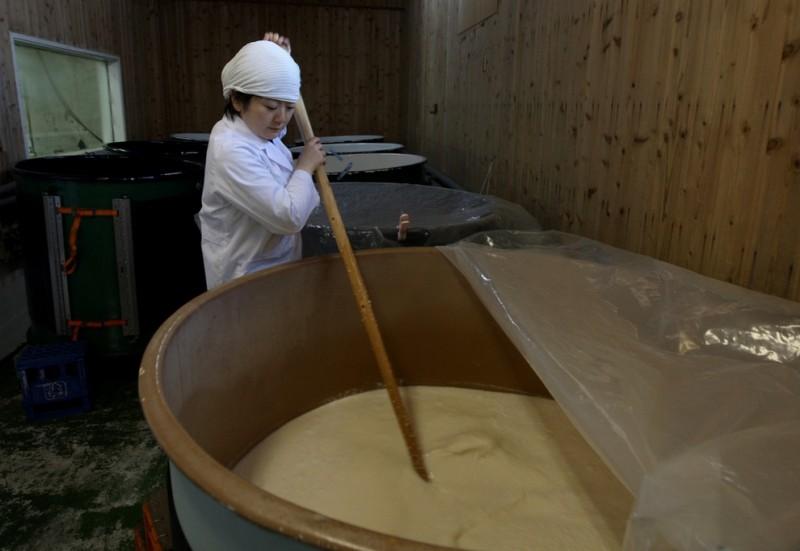 sake01 800x551 Как варят традиционное японское саке