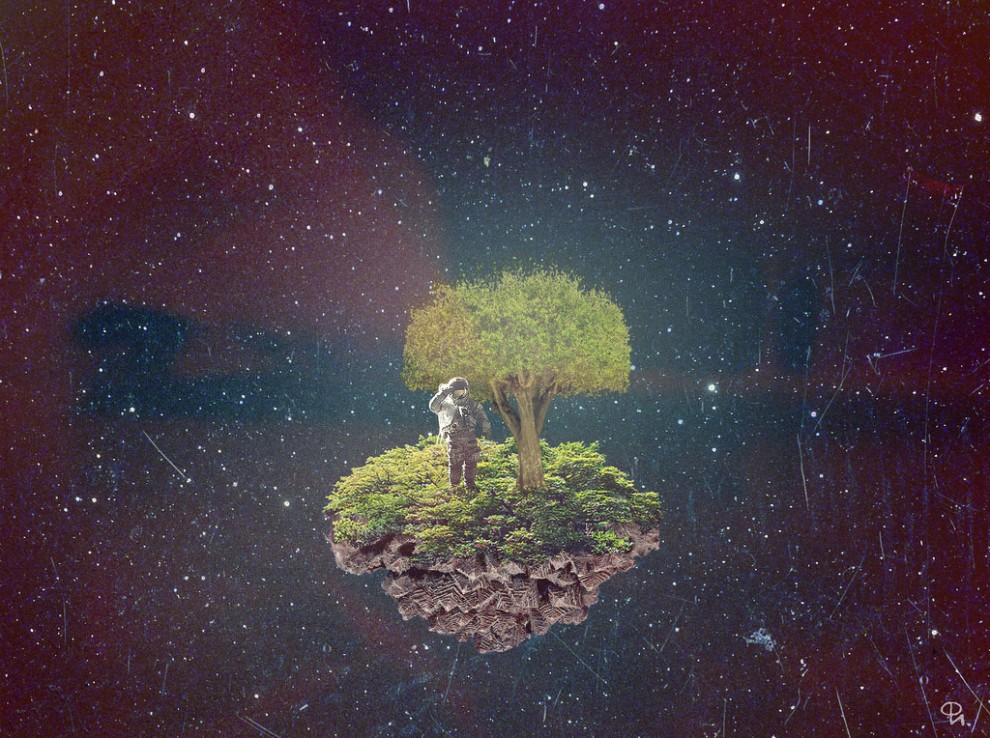 woodcum13 990x738 Сюрреалистические коллажи Филиппа Игумнова