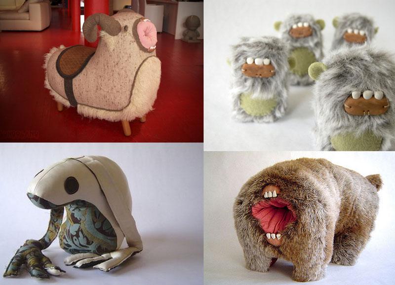 08 Десятка самых странных мягких игрушек