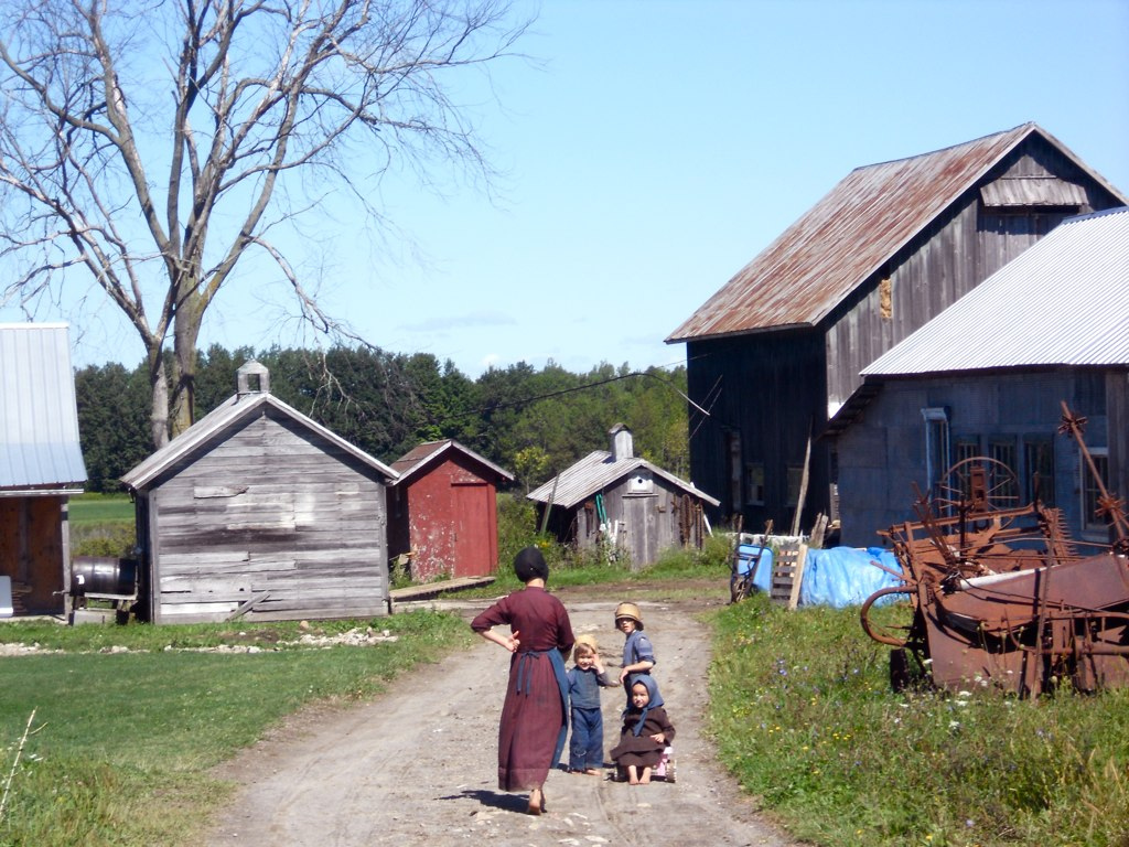 the social construction of the amish