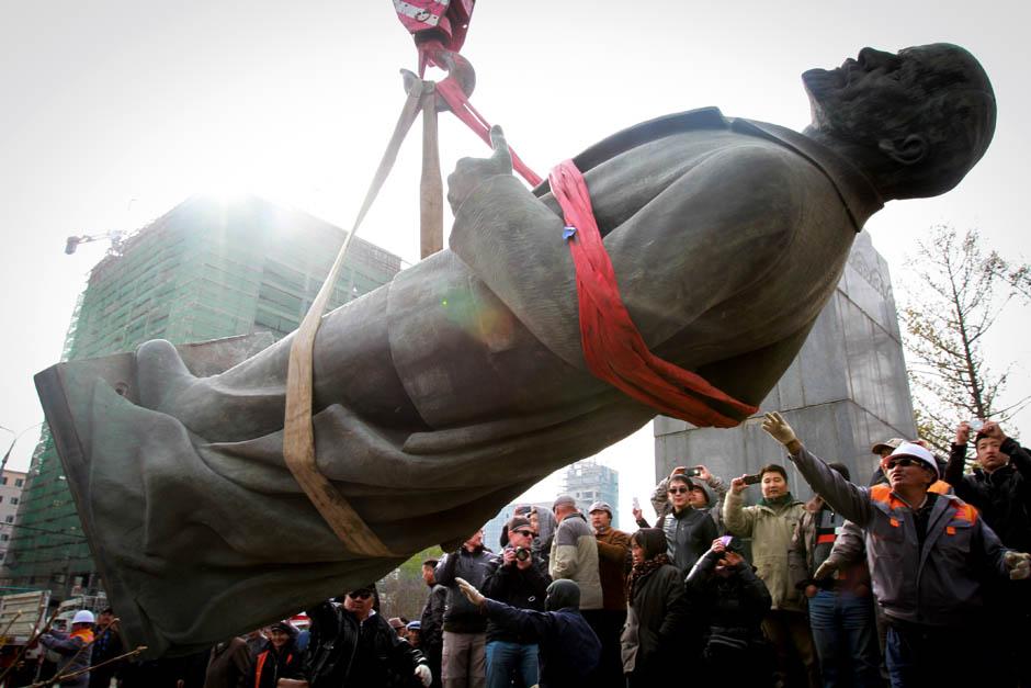 113 Последний Ленин Монголии готов уйти с молотка