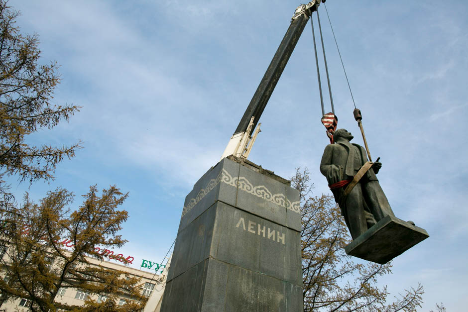 210 Последний Ленин Монголии готов уйти с молотка