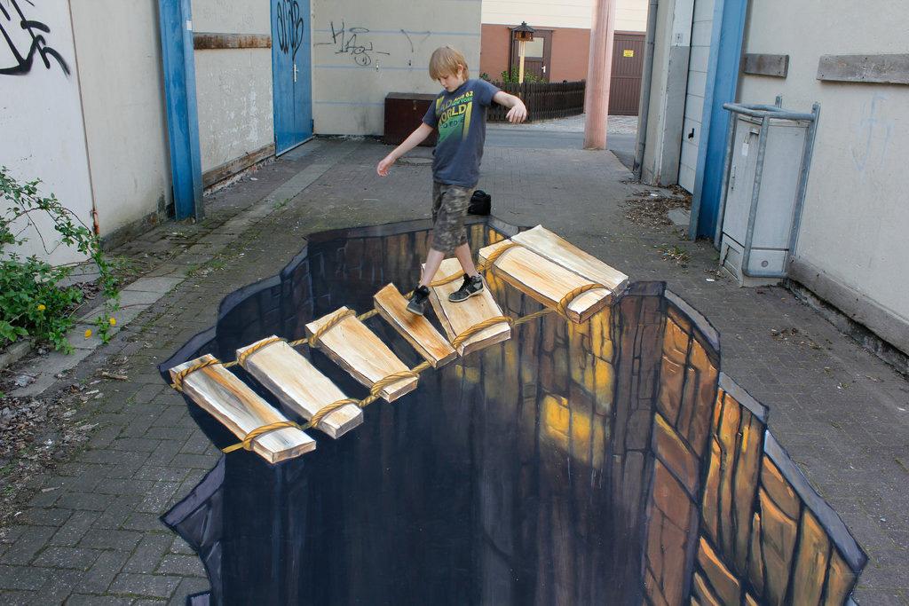 3d 1 Уличные 3D рисунки Николая Арндта