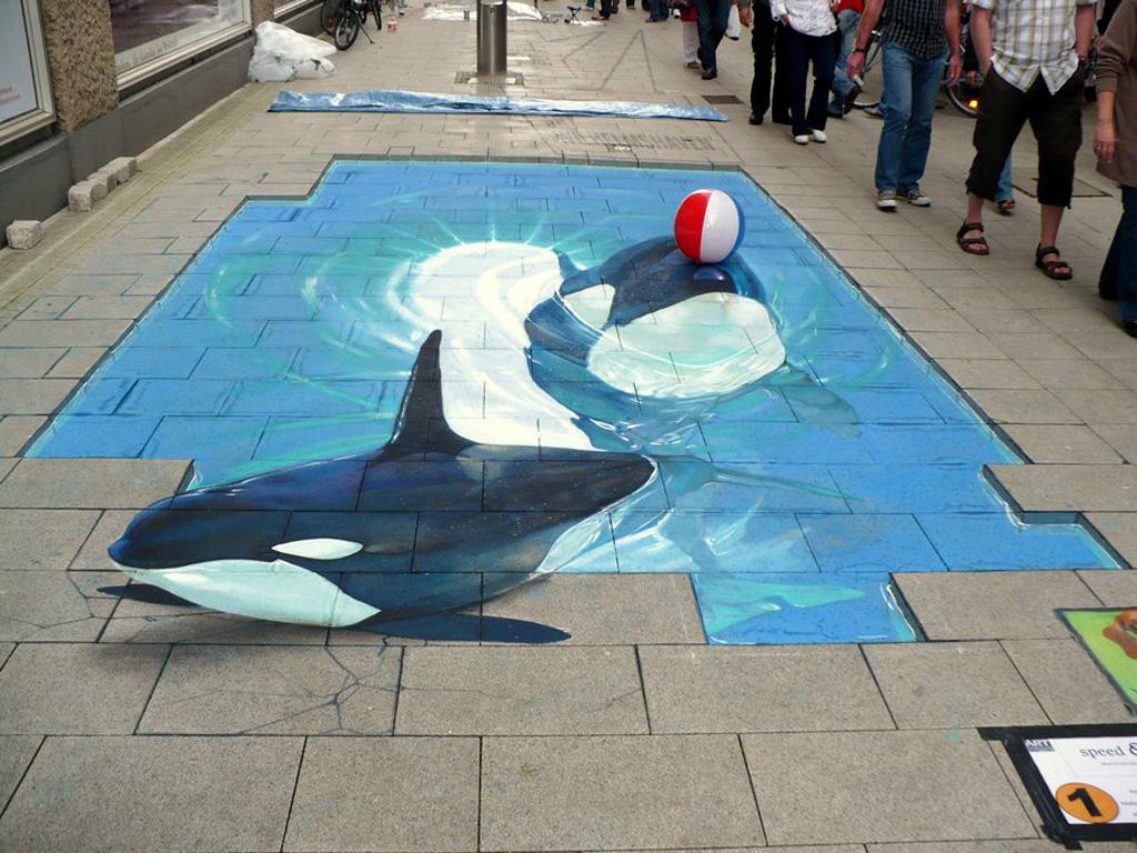 3d 16 Уличные 3D рисунки Николая Арндта