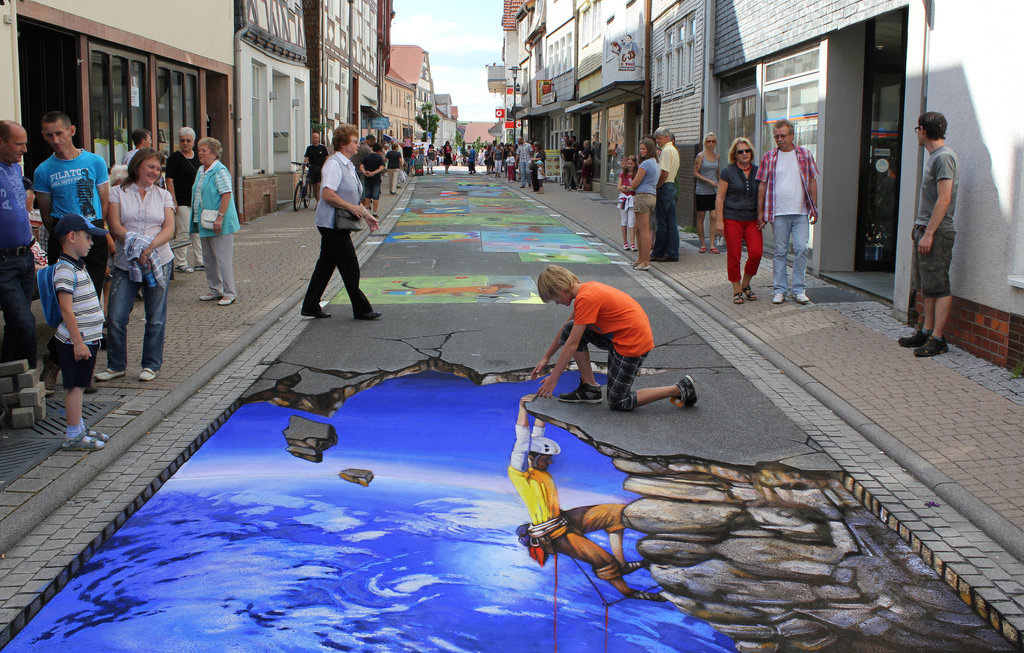 3d 6 Уличные 3D рисунки Николая Арндта