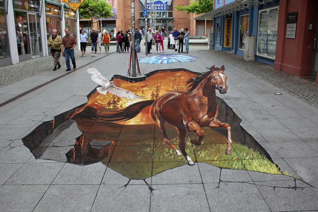 3d 7 Уличные 3D рисунки Николая Арндта
