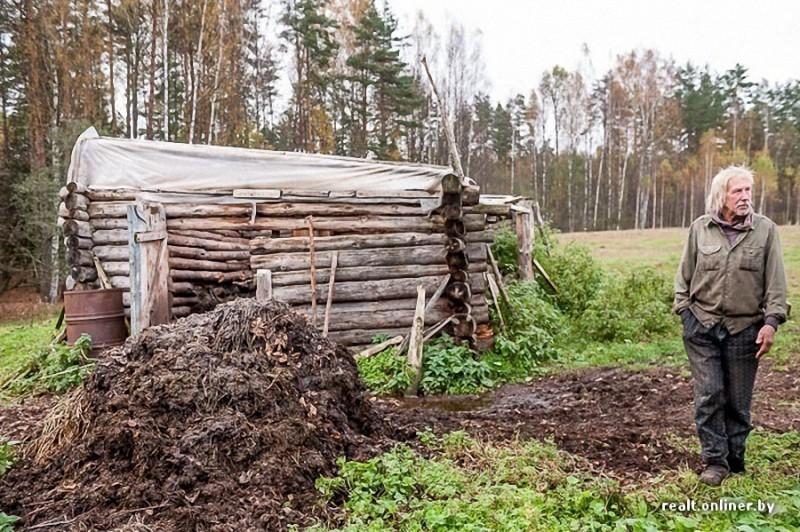 46 800x532 Белорусские отшельники уже20 летживут безсвета, газа иводопровода, нонасвоей земле