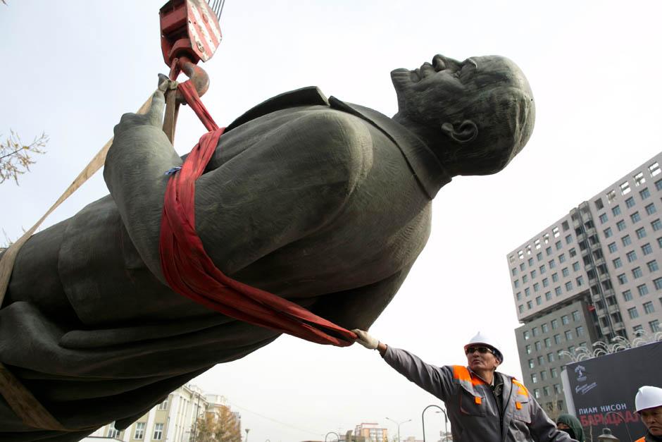 63 Последний Ленин Монголии готов уйти с молотка