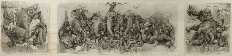 Adonna Khare's Amazing 1 Рисунок карандашом в 26 кв.м.