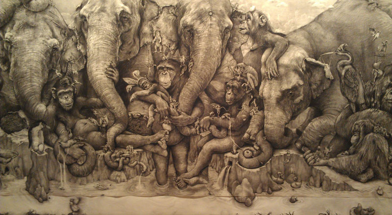 Adonna Khare's Amazing 12 Рисунок карандашом в 26 кв.м.