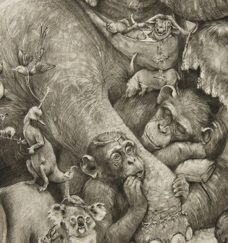Adonna Khare's Amazing 5 Рисунок карандашом в 26 кв.м.