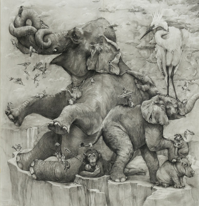 Adonna Khare's Amazing 8 Рисунок карандашом в 26 кв.м.