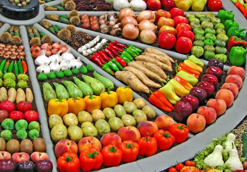 Artful Displays of Vegetables 2 800x558 ��������� ������� ������� �� ��������� � ��������