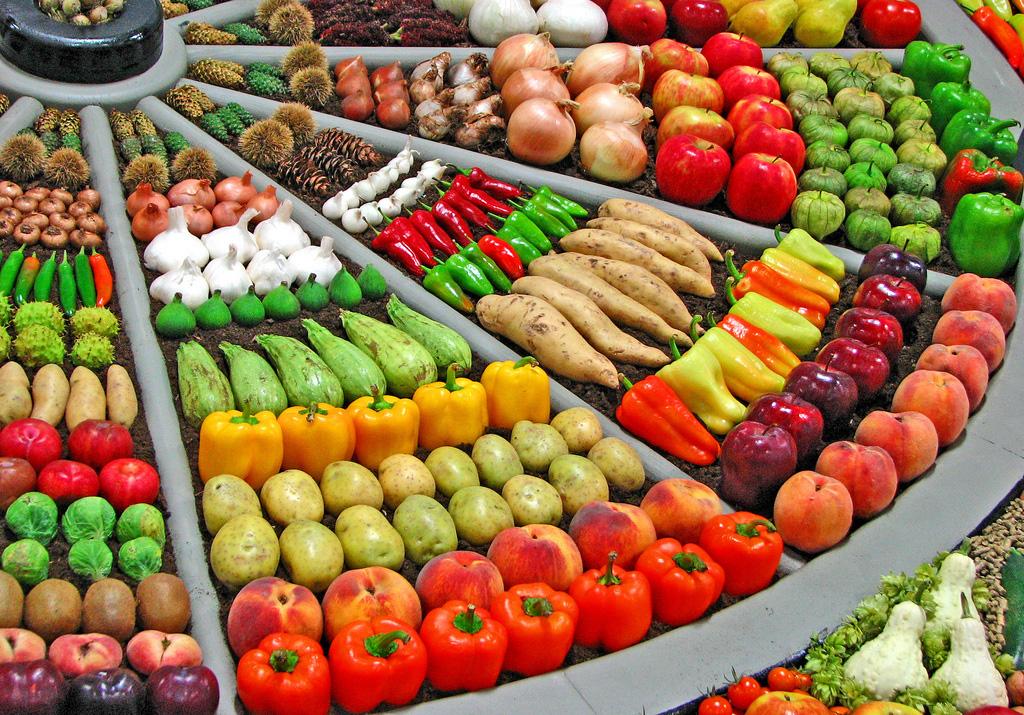 Artful Displays of Vegetables 2 Красочные овощные мозаики на выставках и ярмарках