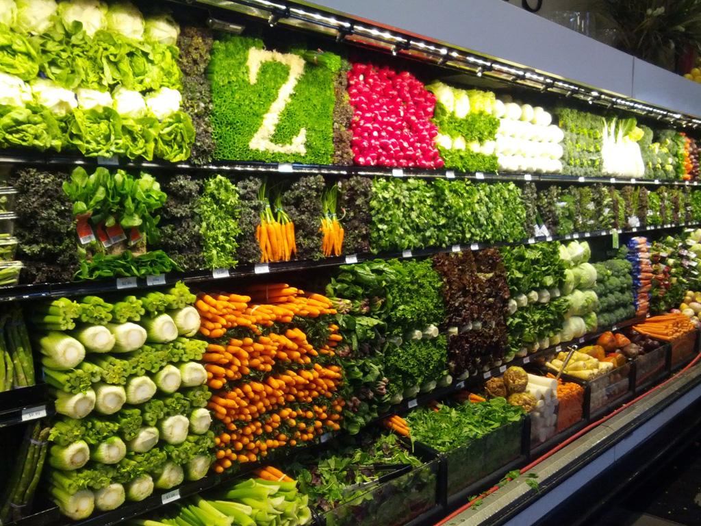 Artful Displays of Vegetables 4 Красочные овощные мозаики на выставках и ярмарках