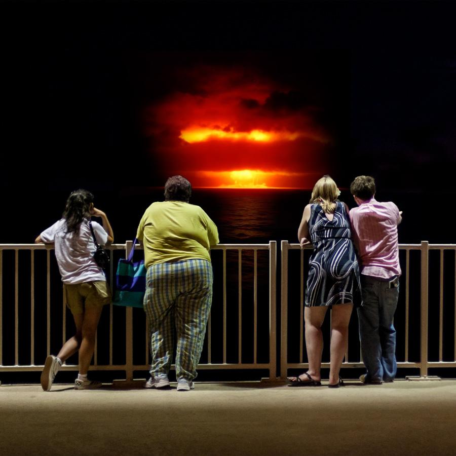 Atomic Overlook 13 Вид на атомный взрыв