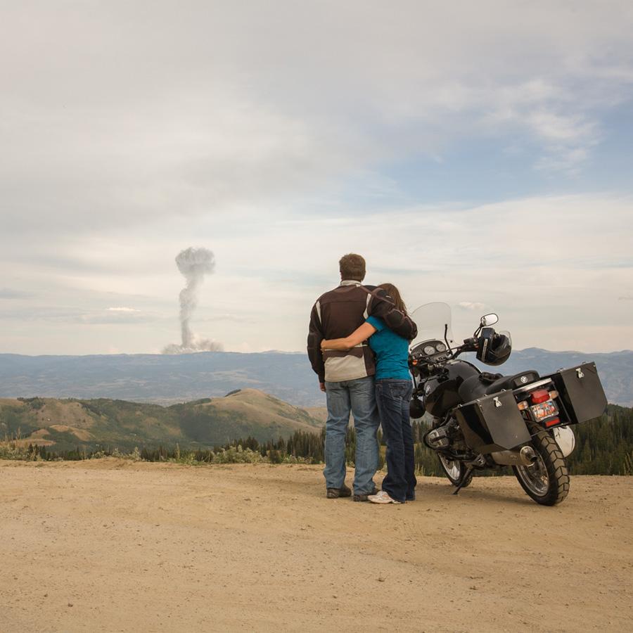 Atomic Overlook 4 Вид на атомный взрыв