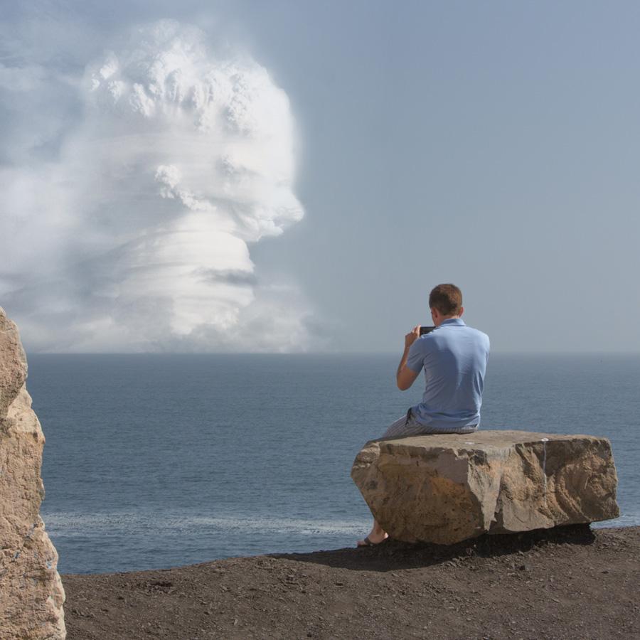 Atomic Overlook 9 Вид на атомный взрыв