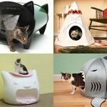 Кошачьи домики