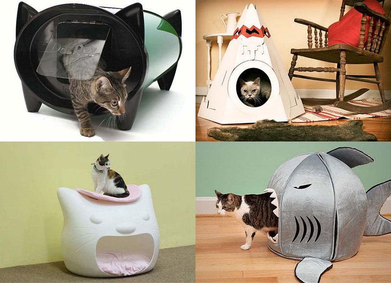 BIGPIC213 Кошачьи домики