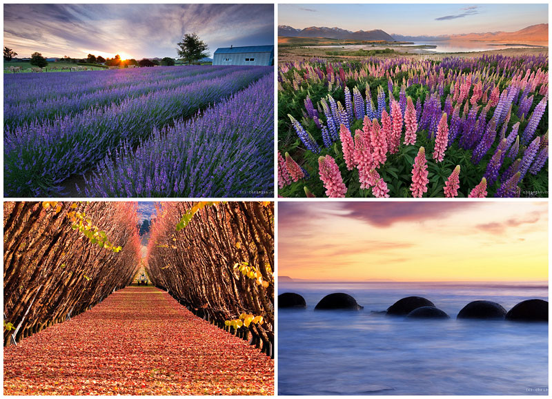 BIGPIC215 Красота пейзажей Новой Зеландии в объективе Криса Джина