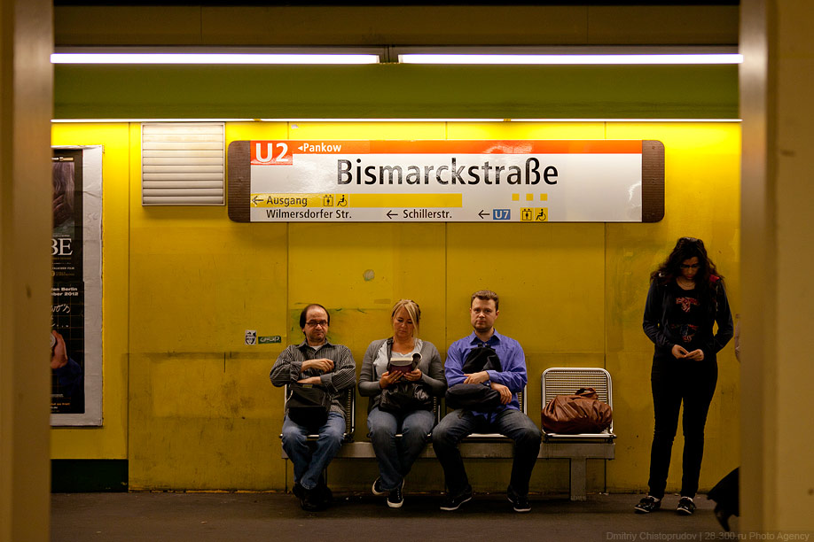 Berlin 17 Общественный транспорт Берлина
