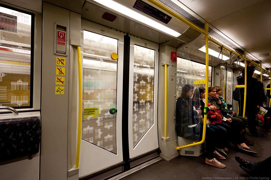 Berlin 21 Общественный транспорт Берлина