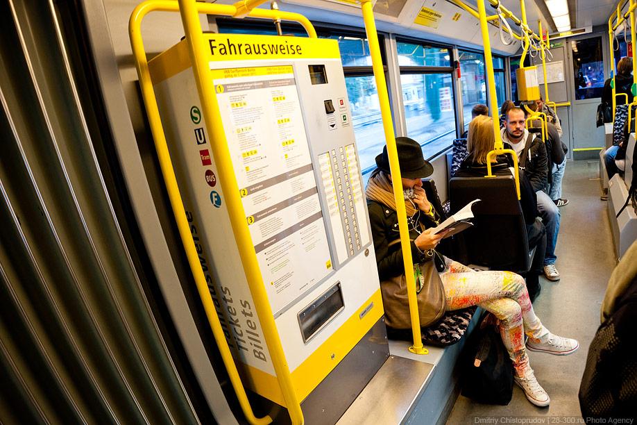 Berlin 9 Общественный транспорт Берлина