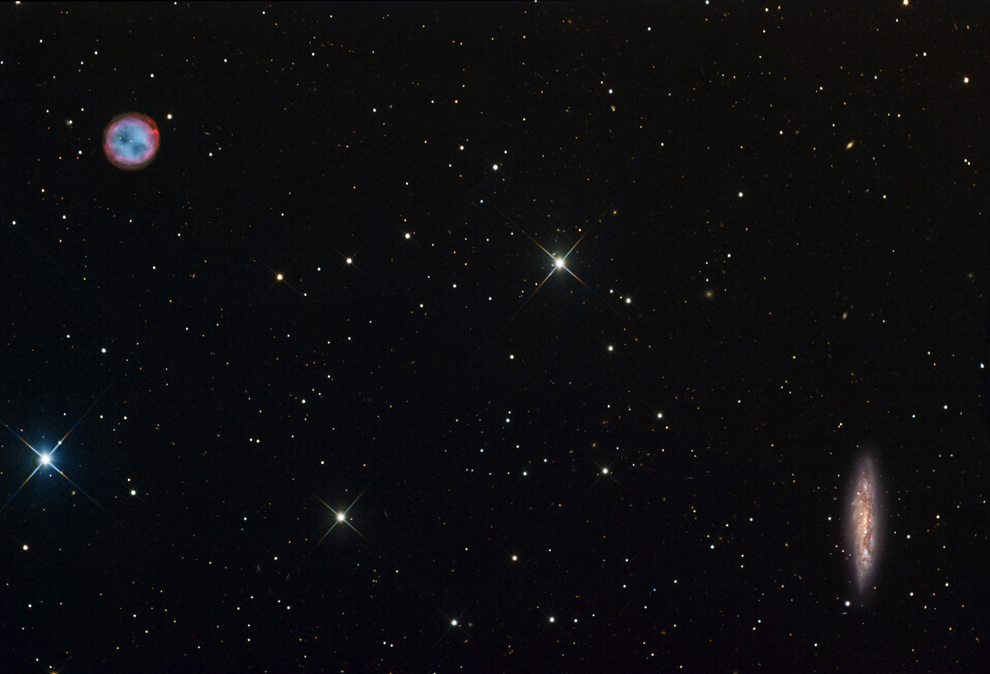Bolgaria 16 Глубины Вселенной в работах любителя астрономии из Болгарии