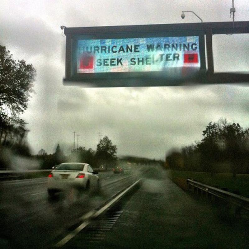 Capturing Sandy's Wrath 18 Уникальные фотографии: в эпицентре урагана Сэнди