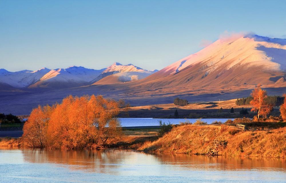 Chris Gin 1 Красота пейзажей Новой Зеландии в объективе Криса Джина