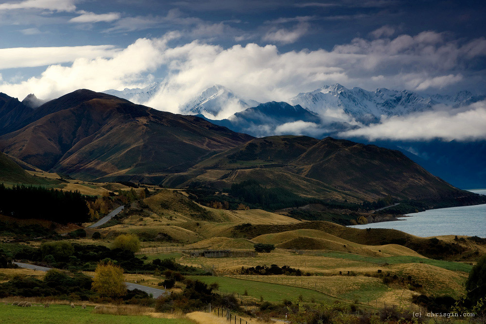 Chris Gin 5 Красота пейзажей Новой Зеландии в объективе Криса Джина