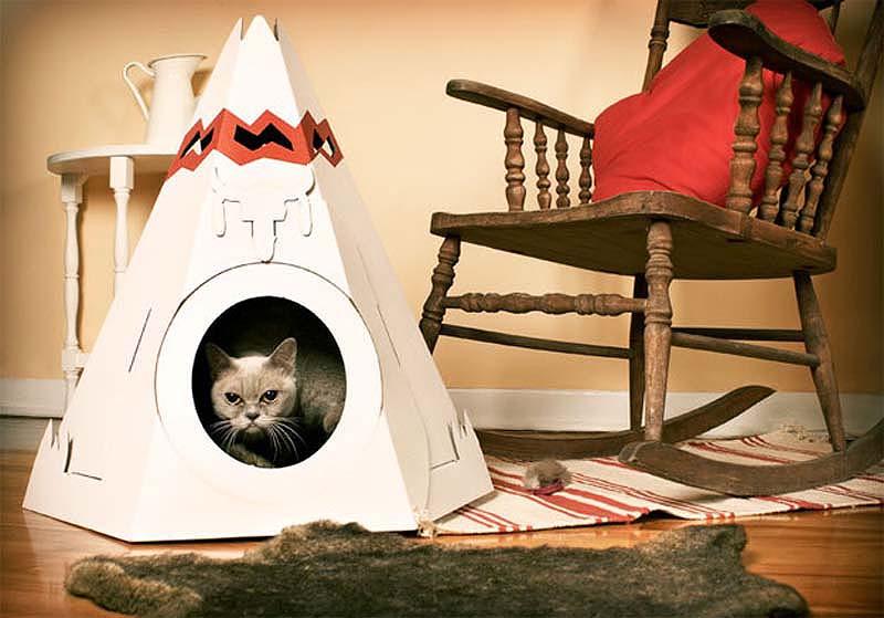 For Cats 14 Кошачьи домики