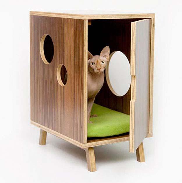 For Cats 16 Кошачьи домики