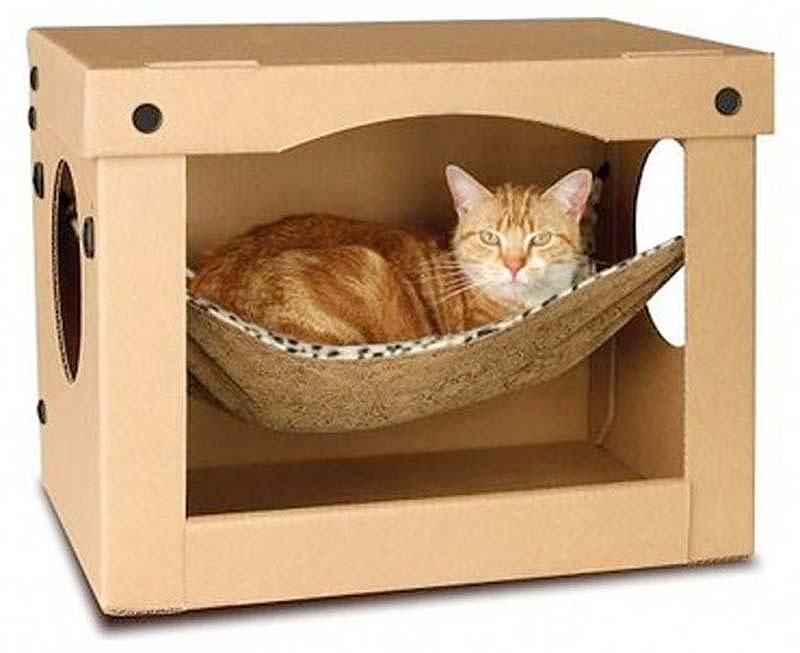 Домик для кошки фото.  Мадленочка.  Кошкин дом.