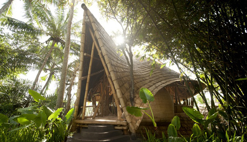 GreenVillage1 Бамбуковые дома на Бали