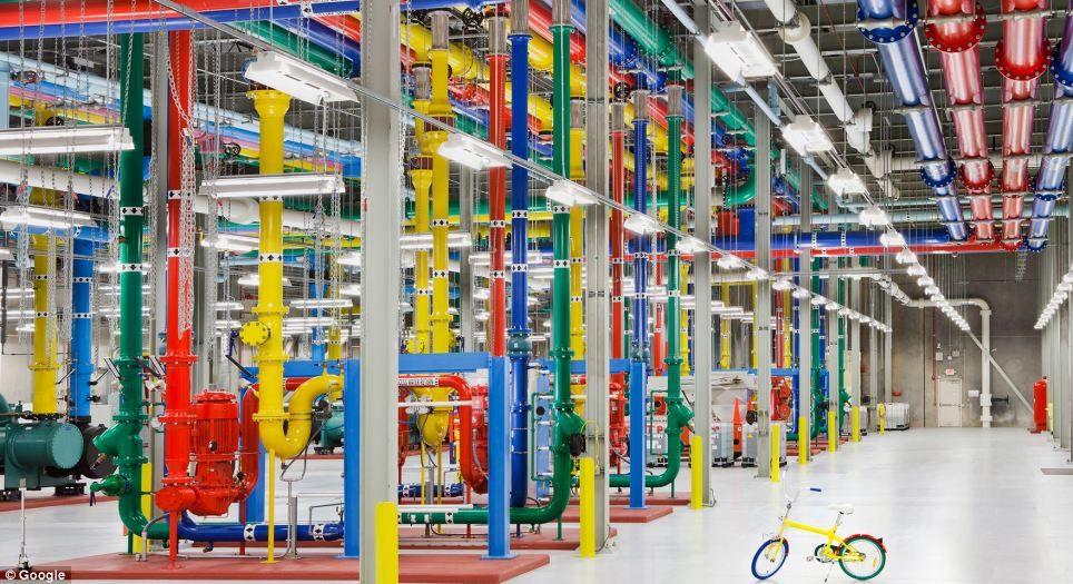 Inside the internet 5 Дата центры Google