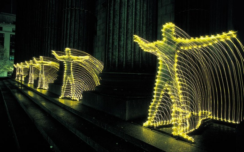 Light graffiti art 9 800x499 Световое граффити от отца света Эрика Столлера