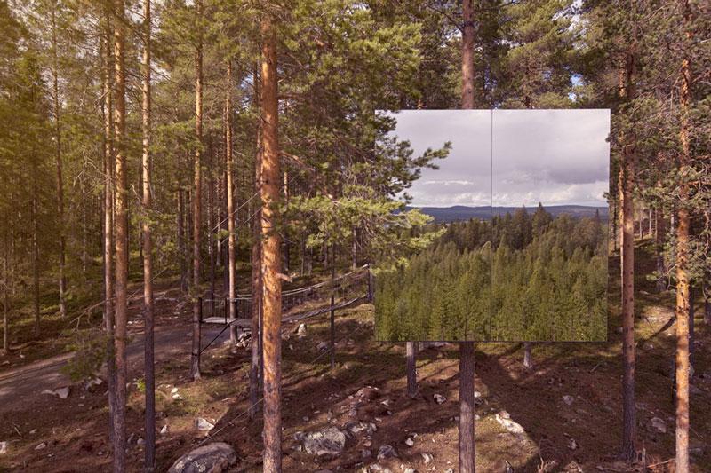Nature Lovers 2 Отель Treehotel в Швеции для любителей природы