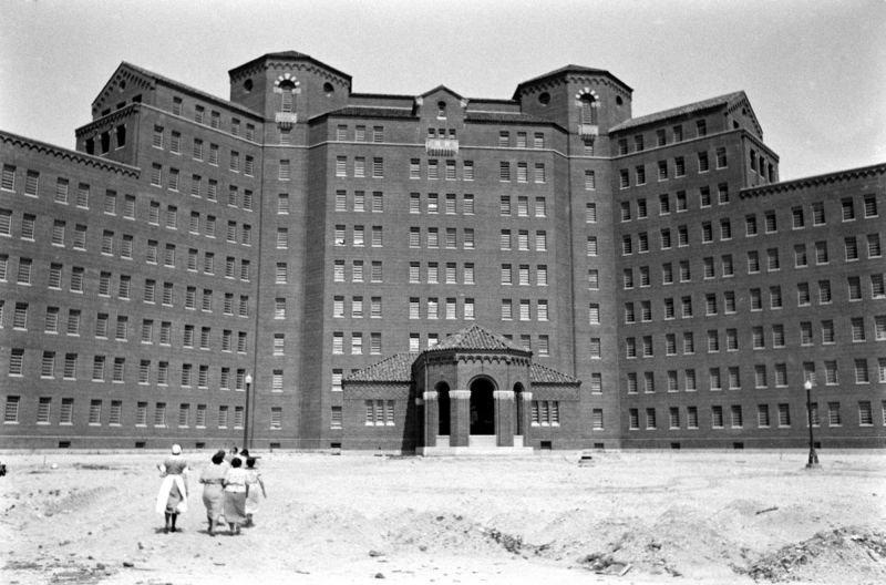 Психиатрическая клиника Нью-Йорк 1938год