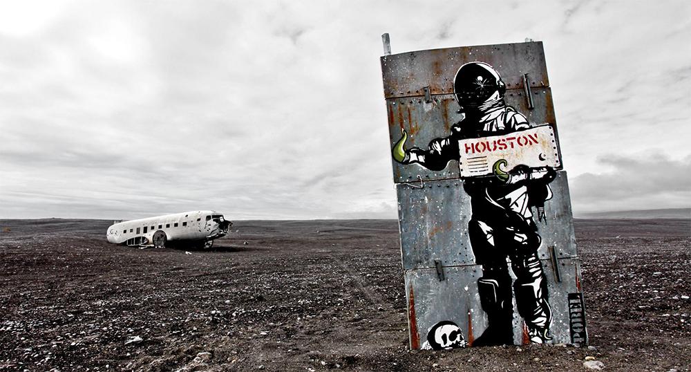 Pobel 1 Уличный художник Pøbel из Норвегии